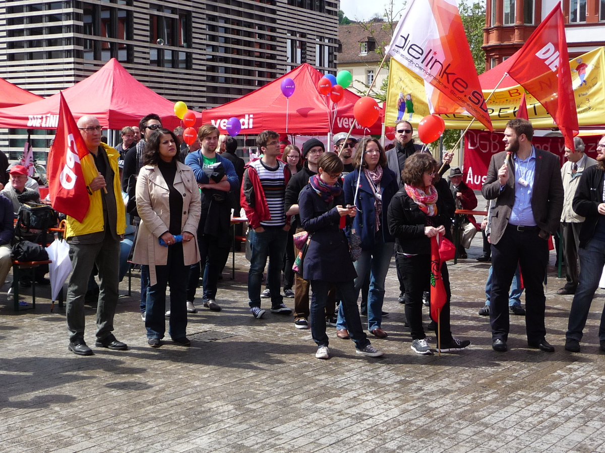 Maikundgebung 2014